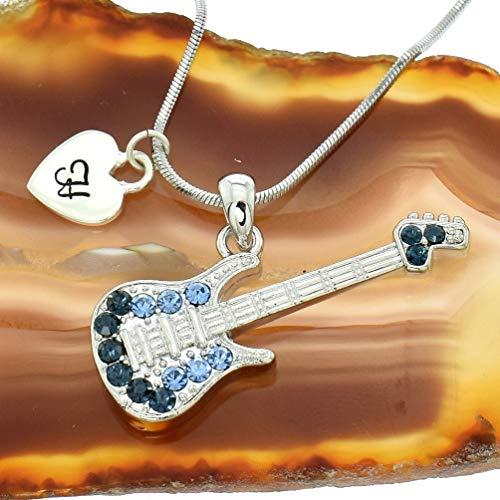 Flamingo Hawaiian Pattern Custom Guitar Pick Pendant Necklace Keychain